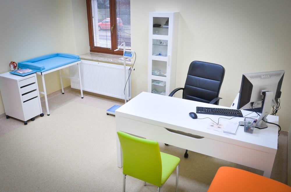 Gabinet Lekarza Podstawowej Opieki Zdrowotnej.