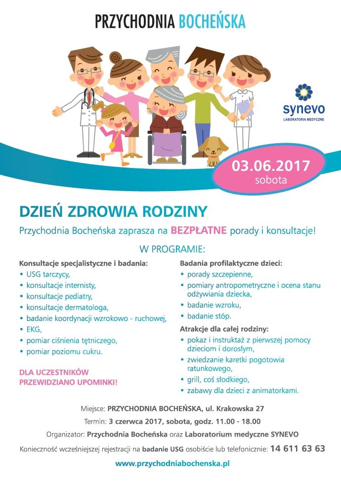 Plakat Dzień Zdrowia Rodziny